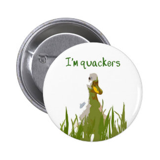I'm Quackers 2 Inch Round Button