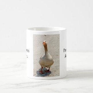 I'm Quackers Goose Mug