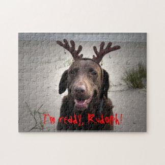 I'm ready, Rudolph! Jigsaw Puzzle