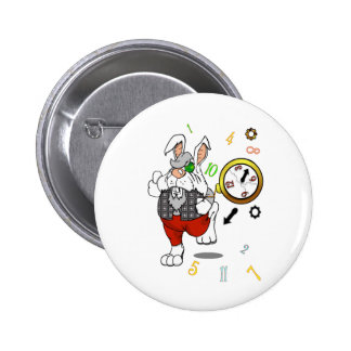 I'm Really Really Late 2 Inch Round Button