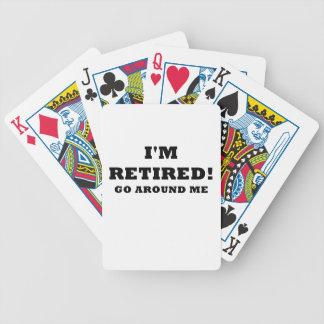 Im Retired Go Around Me Poker Deck