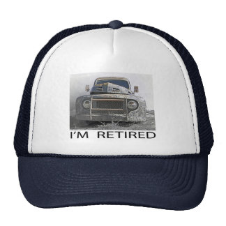 I'm Retired Trucker Hat