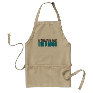 I'm Right I'm Papou Apron