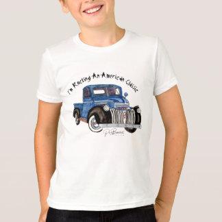 I'm Rocking An American Classic - Blue Chevy PU T-Shirt