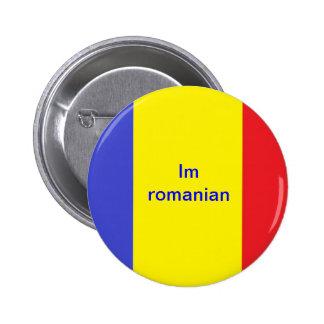 Im Romanian 2 Inch Round Button