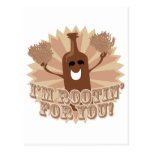 I'm rootin for you! post card