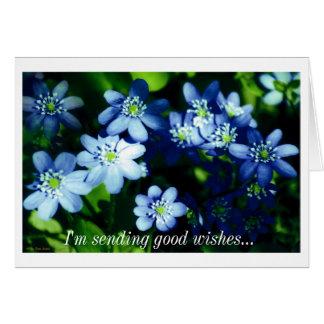 I'm sending good wishes card
