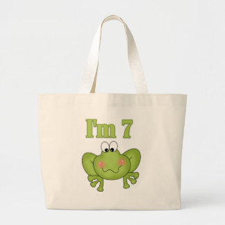 I'm Seven Frog Tshirts and Gifts Jumbo Tote Bag