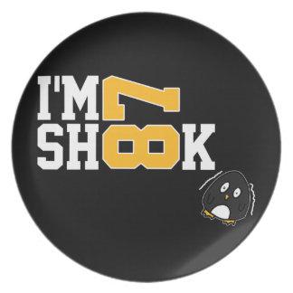 I'm Shook Plate