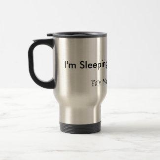 I'm Sleeping With The Boss Travel Mug