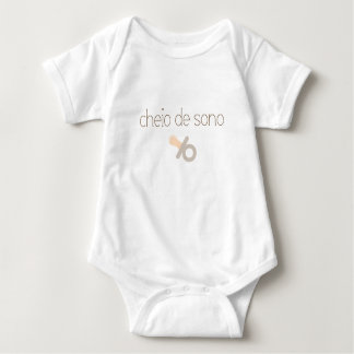 I'm Sleepy (in Portuguese) Baby Bodysuit