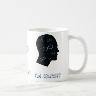 I'm smart- Head with infinity symbols - Mug