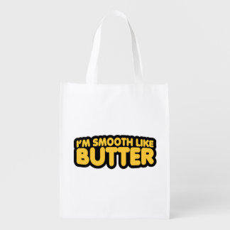 I'm Smooth Like Butter Market Tote