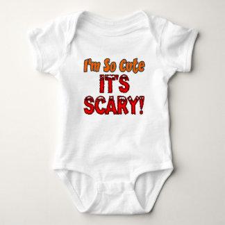 I'm So Cute, It's Scary Baby Halloween Baby Bodysuit