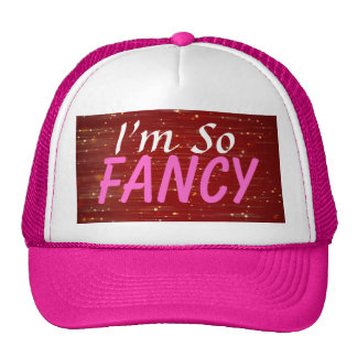 I'm So Fancy Sparkle Trucker Hat