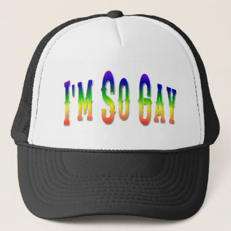 I'm So Gay Trucker Hat