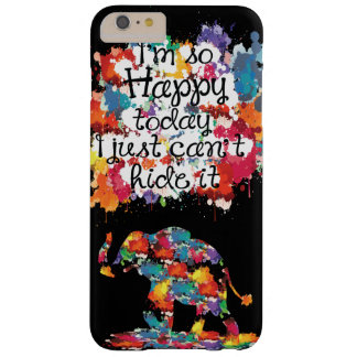 I'm so happy today Case-Mate Barely There iPhone 6