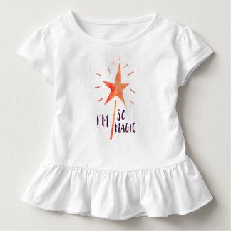 I'm So Magic Girls Toddler Ruffle T Shirt