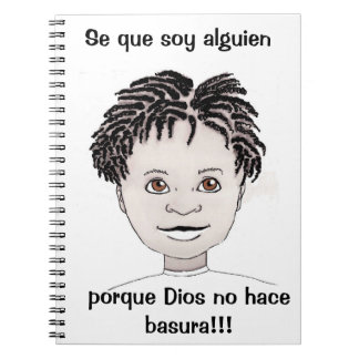 """""""I'm Somebody"""" Journal (Boy's Spanish)"""