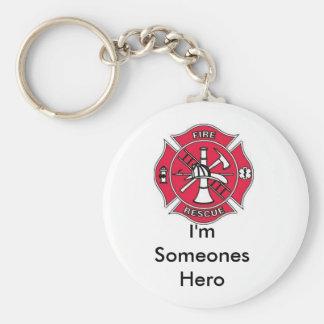 im someones hero keychain