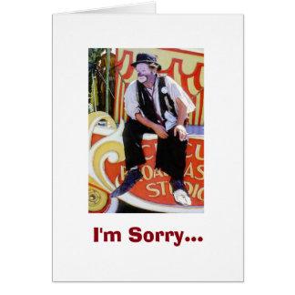 I'm Sorry - I feel like such a fool! Greeting Card