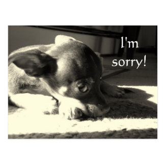 I'm sorry! postcard