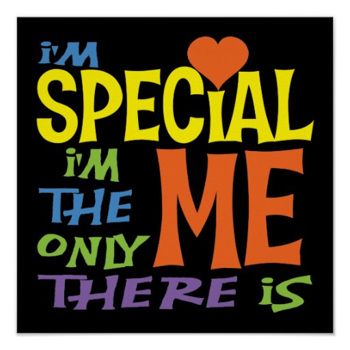 I'm Special Children's Poster