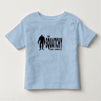 I'm Squatchy Toddler T-shirt
