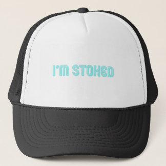 I'm Stoked Blue Trucker Hat