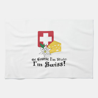 I'm Swiss! Kitchen Towel