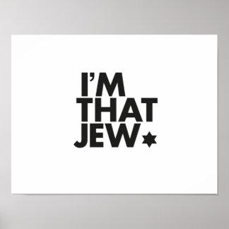 I'm That Jew Poster - Horizontal