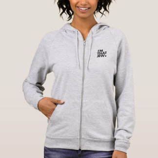 I'm That Jew Women's Fleece Zip Hoodie