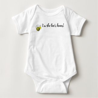 I'm the bee's knees! baby bodysuit