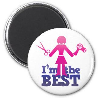 I'm the best ! 2 inch round magnet