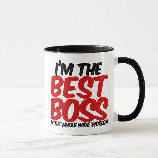 im the best boss in the whole wide world mug