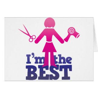 I'm the best ! greeting card