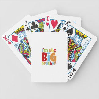IM THE BIG BROTHER BICYCLE PLAYING CARDS