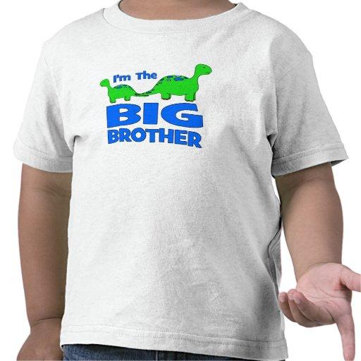I'm the BIG Brother! Custom Dinosaur Design T-shirts