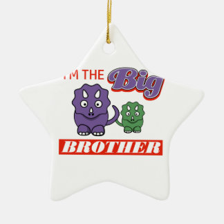I'm the Big Brother designs Ceramic Ornament