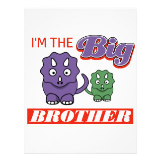 I'm the Big Brother designs Letterhead