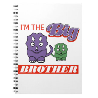 I'm the Big Brother designs Notebooks