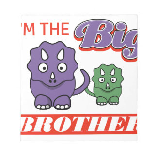 I'm the Big Brother designs Notepad