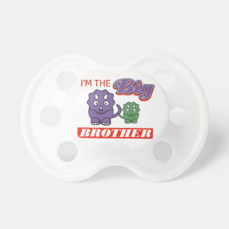 I'm the Big Brother designs Pacifier