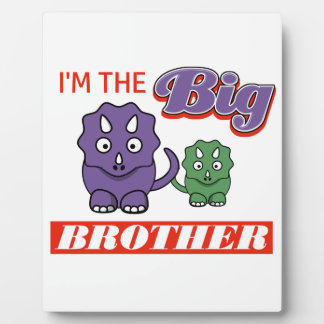 I'm the Big Brother designs Plaque