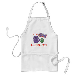 I'm the Big Brother designs Standard Apron