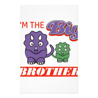 I'm the Big Brother designs Stationery