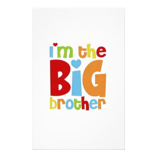 IM THE BIG BROTHER STATIONERY