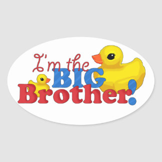 """I'm the Big Brother!"" Stickers"