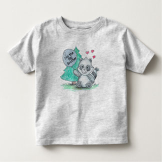 """""""I'm the Big Brother"""" Toddler-sized T-shirt"""