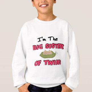 Im the BIG SISTER of TWINS Sweatshirt